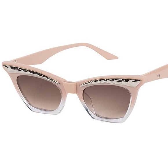 26fd1eb21c01 Valley Eyewear Dusty Pink Seylah Sunglasses